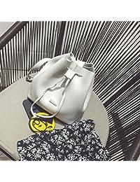 Women Stylish PU Leather Sling Bag Strap Adjustable Crossbody Bag Casual Bucket Bag Unique Design Solid Color...