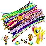 LVHERO Pfeifenreiniger, 300 Stück 20 Farben Pfeifenputzer Bunt Pipe Cleaner...