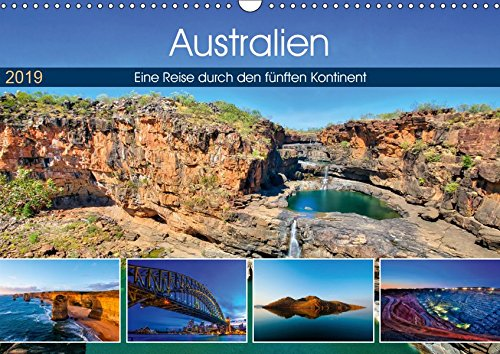 Australien - Travel The Gravel (Wandkalender 2019 DIN A3 quer): Eine Reise durch den fünften Kontinent (Monatskalender, 14 Seiten ) (CALVENDO Orte)