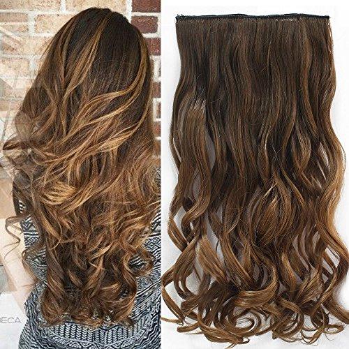Neverland Clip in Hair Extensions Ombre haar extensions Haarverlängerungen Dip Dye (Farbige Haar Extensions)