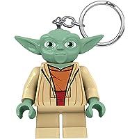 LEGO LGLKE11 - Star Wars Schlüsselhänger mit Lampe Yoda, Mehrfarbig