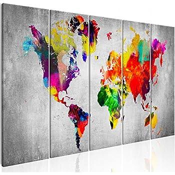 Wandbilder XXL Groß Bilder Abstrakt Kunstdruck zur Selbstmontage 160x80 cm