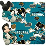Northwest 1COB-03800-0014-RET Dis-Nfl - Jaguars NFL Fleece Throw Pillow Set