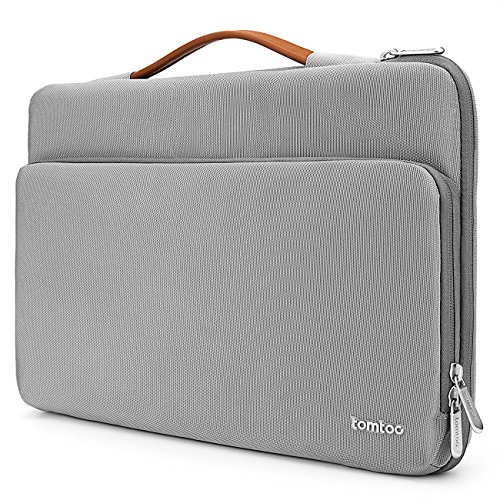【14 Pouces】 Tomtoc Housse de Protection à 360° pour 15 Pouces Nouveau MacBook Pro Retina (A1707), Sacoche 14 Pouces Ordinateur Portable Tablettes Thin...