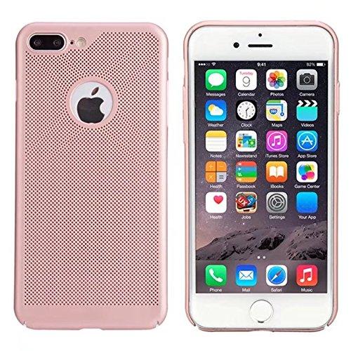 iPhone 7 Plus H¨¹lle,iPhone 8 Plus H¨¹lle,Valenth Sto?- Schlagschutzma?nahmen schwer zur¨¹ck H¨¹lle Cover f¨¹r iPhone 7 Plus / 8 Plus RoseGold