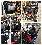 Rücksitzorganizer und Kinderwagentasche, Tabl...Vergleich