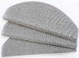 havatex Flachgewebe Stufenmatte Sahara 24 cm x 65 cm / 15 Stück - schadstoffgeprüft pflegeleicht schmutzabweisend | strapazierfähig rutschhemmend | Treppen-Schoner, Farbe:Grau