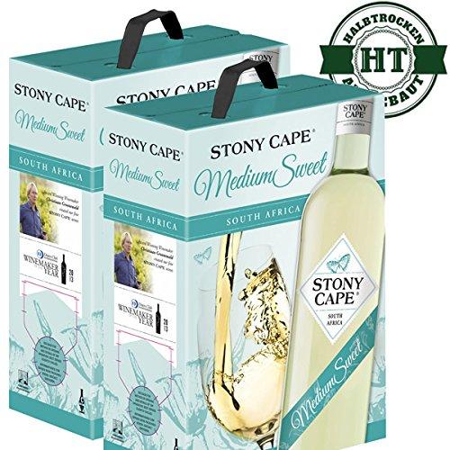 2 x Weißwein Südafrika Stony Cape medium sweet (2x3,0l)