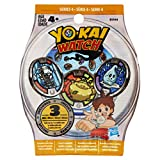 There are three Yo-kai medals in every mystery bag, and it's a surprise which Yo-kai Medals are inside! Each medal shows a different character. Pretend to summon the crazy Yo-kai characters from the animated show by placing a Yo-kai Medal int...