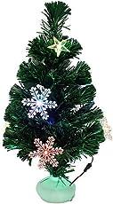 K¨¹nstlicher Weihnachtsbaum, outgeek Tannenbaum Christbaum 60cm(24'') gr¨¹n Weihnachtsbaum klein mit Beleuchtung Multicolor LED und Weihnachtsschmuck (60cm mit LED)