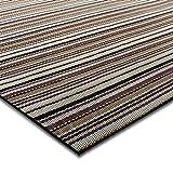 casa pura® Indoor- und Outdoor-Bodenbelag Asti | kunstvoll gewebt | als Teppich oder Läufer | 40 Größen (180x400cm)