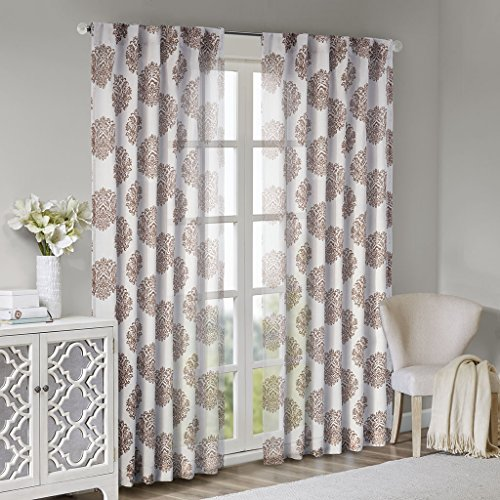 check MRP of long curtains rods Madison Park