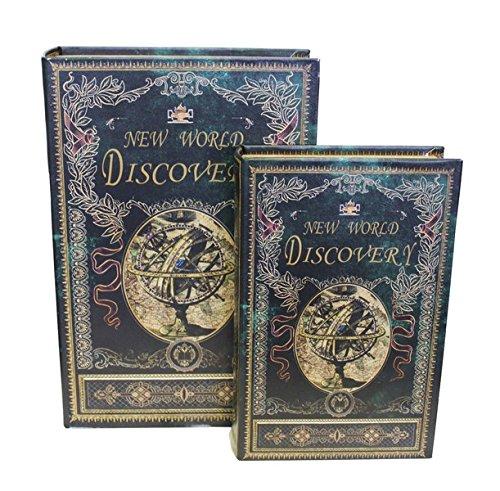Preisvergleich Produktbild Paar Zwei Boxen Aufbewahrungsbox Discovery