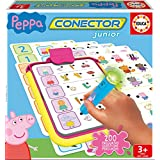 Peppa Pig - Conector Junior, juego educativo (Educa Borrás 16230)