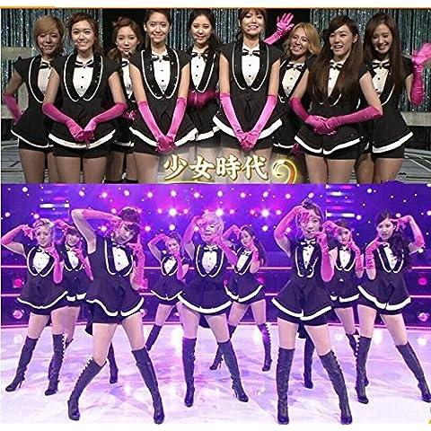 Ropa de canciones hit Girls ' cheerleading DS ropa plomo bailarín discotecas uniformes ropa tentación