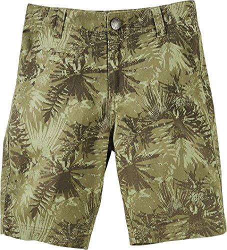PEPPERTS® Kinder Jungen Bermudas Shorts (khaki grün dschungel, Gr. 158) - Dschungel-palme