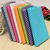 KING DO WAY Pack Of Series 7 Wave Point Assorted Pre-Cut Fat Quarters Bundle Charm Cotton Quilt Fabric Patchwork Multi 50X50cm