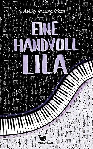 Buchseite und Rezensionen zu 'Eine Handvoll Lila' von Ashley Herring Blake