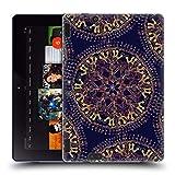 Head Case Designs Ufficiale Magdalena Hristova Indiano Mandala Cover in Morbido Gel Compatibile con Amazon Kindle Fire HDX 8.9