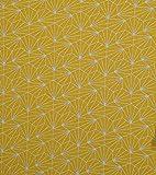 Jerseystoff Viskose Jersey Shells Glitter ocker silber