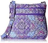Best Vera Bradley Lilacs - Vera Bradley Triple Zip Hipster, Lilac Tapestry Review