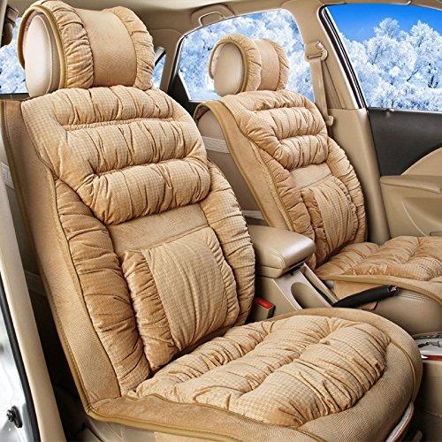 AMYMGLL Autozubehör High - End Sitzbezug Luxury Five - Sitz Six - Stück Allgemein Anzug Cashmere Frühling und Herbst-Winter-3 - Farbwahl , #31