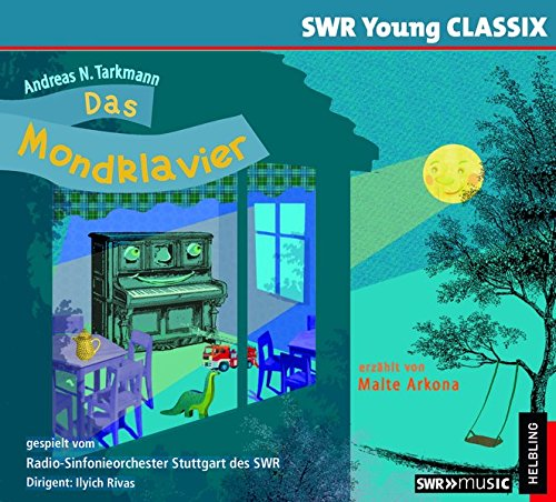 Das Mondklavier, Hörbuch-CD, erzählt von Malte Arkona, gespielt vom Radio-Sinfonieorchester Stuttgart des SWR