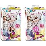 Soy Luna Set ciondolo + gioielli, 13x 7cm, Kids wdsl054