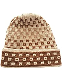 Graceway Unisex Winter Woolen Beanie knitted Acro Wool Cap, Extra Warm and Comfortable