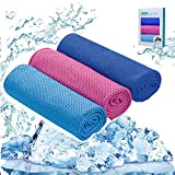 Ice Towel Stay Cool - 3 Pack Ice Cooling Towels for All Sports,Special