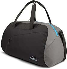"""Pazzo Polyester 19"""" Black Soft Sided Travel Duffles"""