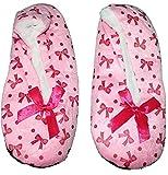 #7: Zacharias Girl's Indoor Winter Woolen Furr Slippers Socks