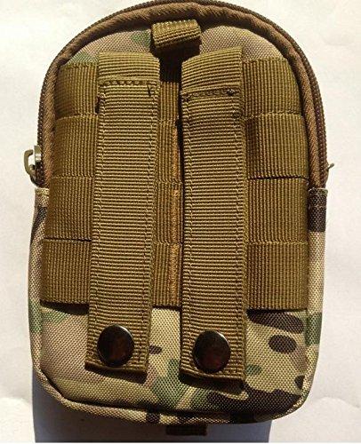 Agli appassionati ZLL/militare tattico tasca borsa Cinture Borse pacchetto cintura Samsung Custodia per pacchetto, mud color numbers