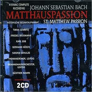 Matthäuspassion (Ga)