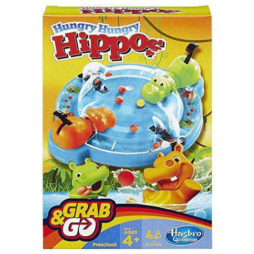Spiele Hasbro Hippo Flipp Kinderspiel Action Spiel für Kinder Jungen/Mädchen ab 4 NEU