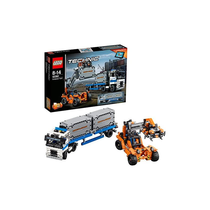 LEGO Technic 42062 - Container Transport 1