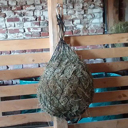 Heunetz Heusack großmaschig 75 cm, Futternetz, Futtersack, Maschenweite 10 cm