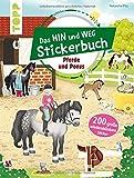 Produkt-Bild: Das Hin-und-weg-Stickerbuch. Pferde und Ponys: Mit 200 großen wiederablösbaren Stickern