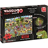 Wasgij 19126 Junior 3 Monster Fun Day Jigsaw Puzzle (100-Piece)