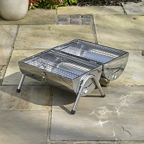 Bonnington Plastics Kingfisher OUTBBQ2 Portable Barrel BBQ