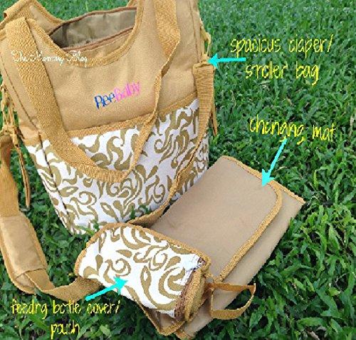 ReeBaby Diaper Bag (Beige)