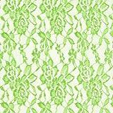 Unbekannt Spitze Leicht – apfelgrün — Meterware ab 0,5