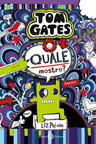 Tom Gates - Quale mostro? (Italian Edition) eBook: Pichon, Liz ...