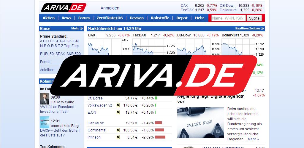 Börse Ariva