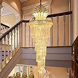 Deckenleuchter Im europäischen Stil, hohl Kronleuchter Kristall Kronleuchter Lounge Kronleuchter Lange, 0,55 * 1,8 M Led-Leuchten