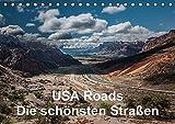 USA Roads (Tischkalender 2017 DIN A5 quer): Eindrücke von den schönsten Straßen der USA (Monatskalender, 14 Seiten ) (CALVENDO Orte)