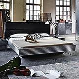 Jugendbett Silva Industrial Optik 180*200 cm Jugendliege Kinderbett Bettliege Bett Bettgestell Jugendzimmer Kinderzimmer Schlafzimmer