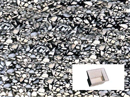 Preisvergleich Produktbild Waschbrett Waschküche CM60X 61X 32H schwarz geschliffen