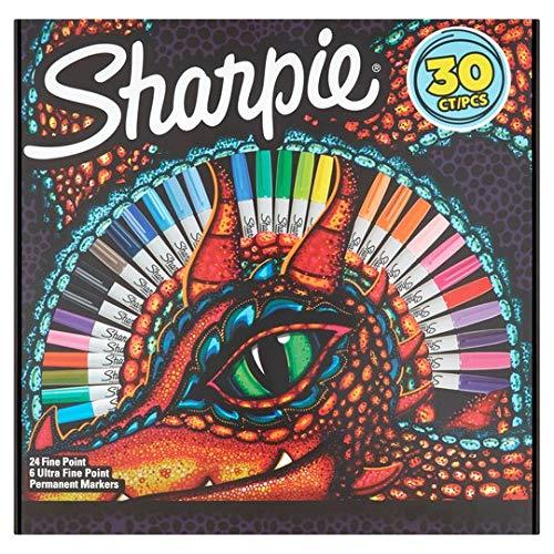 Sharpie - Rotulador permanente 30 unidades