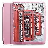 Apple iPad 2 Smart Case rosa Hülle mit Ständer Schutzhülle Rote Telefonzelle England City